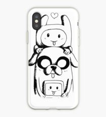Adventure Time - Family Time iPhone Case
