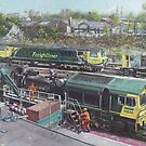Southampton Freightliner Train Maintenance by martyee
