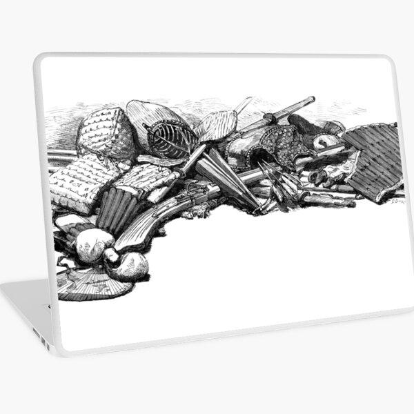 Kendo Weapons & Armor 1888 Laptop Skin