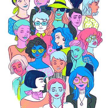 Lotsa Ladies by kookylane