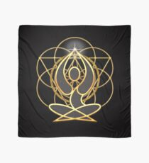 Meditation Geometry Yoga Goddess Mandala Scarf