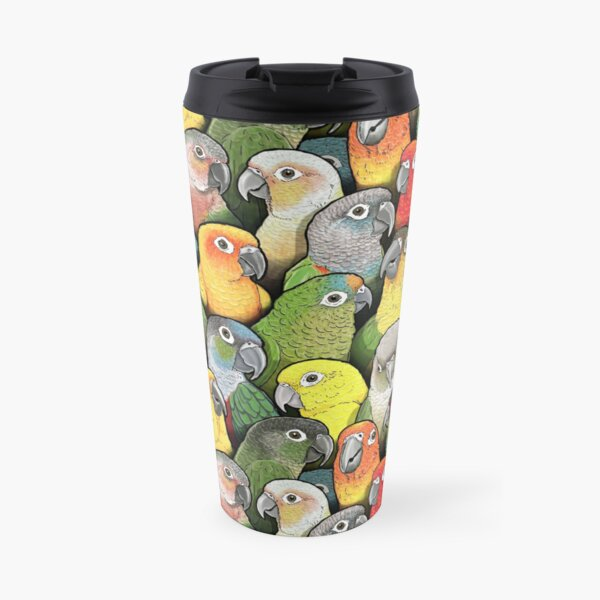 Colour of Conures Travel Mug