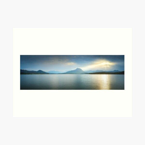 Lake Moogerah, South East Queensland, Australia Art Print