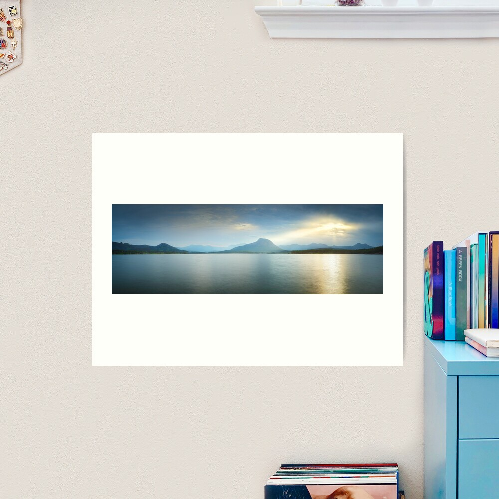 Lake Moogerah, South East Queensland, Australia Art Print