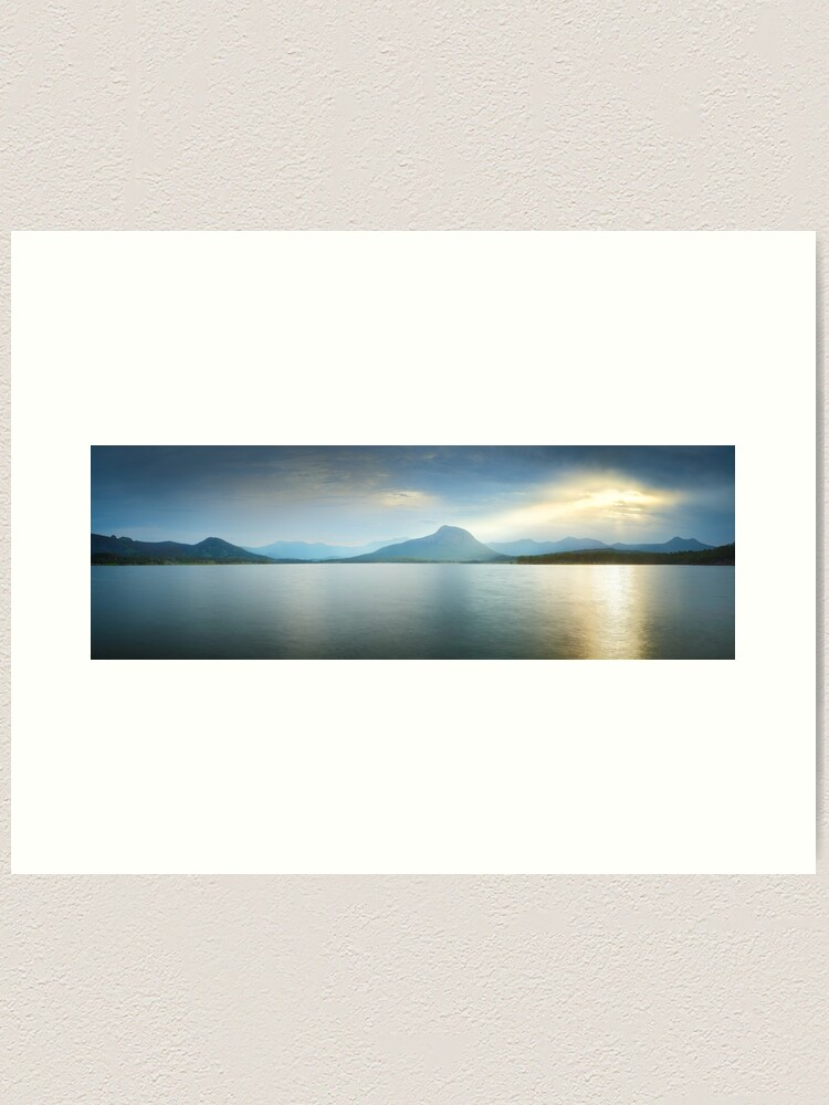 Alternate view of Lake Moogerah, South East Queensland, Australia Art Print