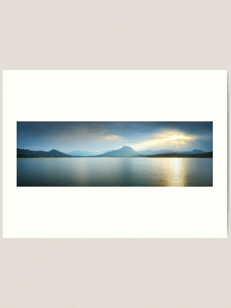 Alternate view of Lake Moogerah, South East Queensland, Australia Art Print