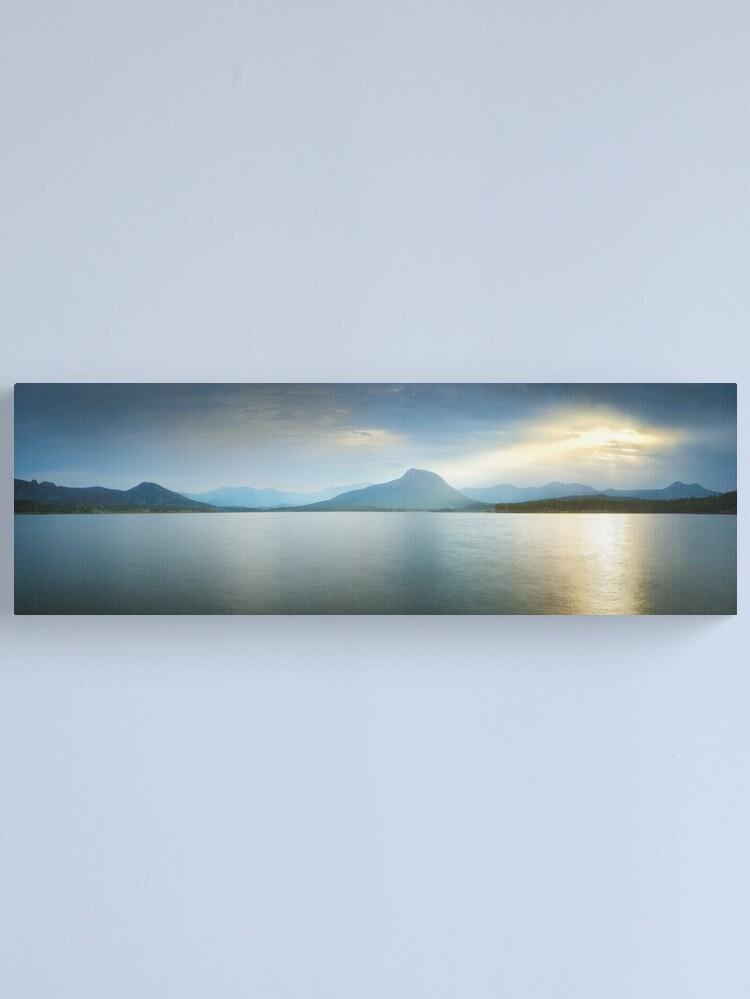Alternate view of Lake Moogerah, South East Queensland, Australia Canvas Print