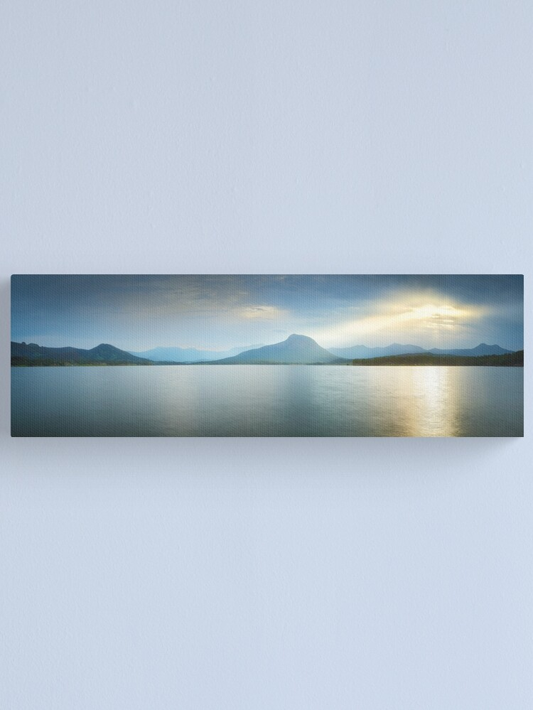 Alternate view of Lake Moogerah, South East Queensland, Australia Canvas Print