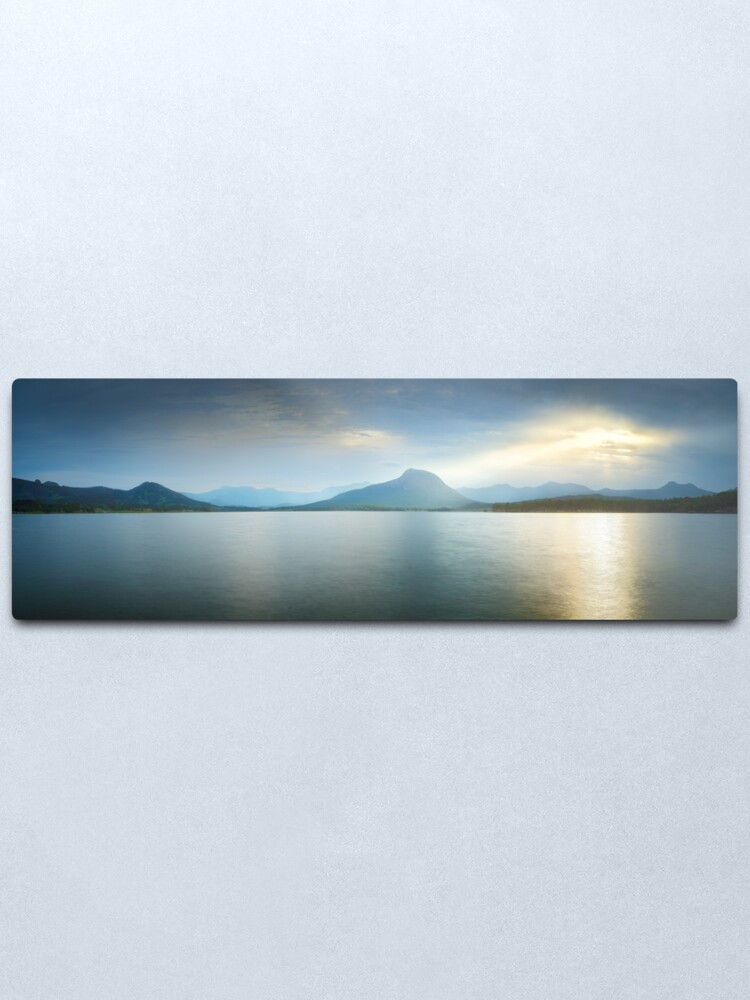 Alternate view of Lake Moogerah, South East Queensland, Australia Metal Print