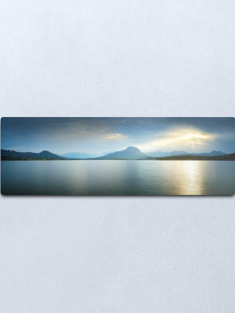 Alternate view of Lake Moogerah, South East Queensland, Australia Metal Print