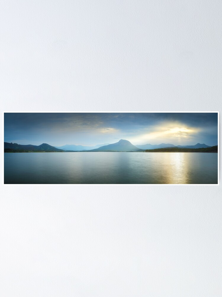 Alternate view of Lake Moogerah, South East Queensland, Australia Poster