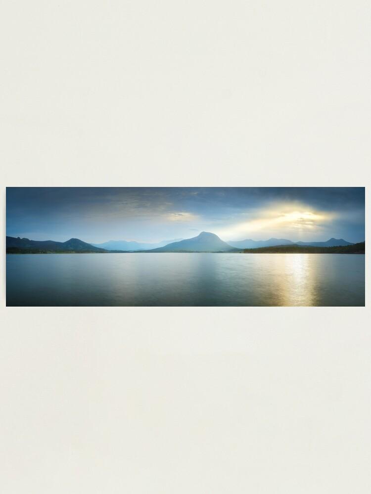 Alternate view of Lake Moogerah, South East Queensland, Australia Photographic Print