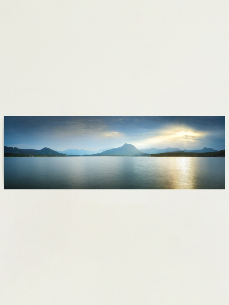Alternate view of Lake Moogerah, South East Queensland, Australia Photographic Print