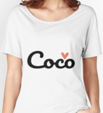 Coco ♥ Women's Relaxed Fit T-Shirt