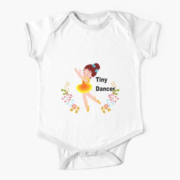 Tiny Dancer Short Sleeve Baby One-Piece