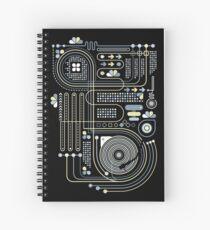 Circuit 02 Spiral Notebook