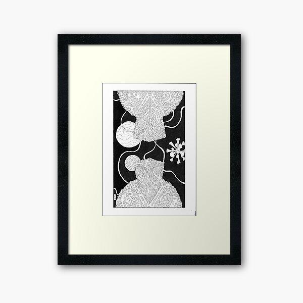 Relfexive Determinism #XXXVI Framed Art Print