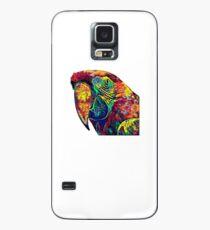 Colorful Art Talking Parrot Ara T- shirt Case/Skin for Samsung Galaxy