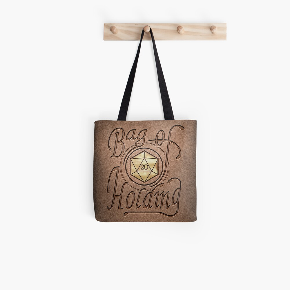 Bag of Holding (light leather look) Tote Bag