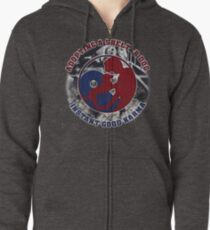 Adopt a shelter dog Zipped Hoodie