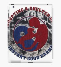 Adopt a shelter dog iPad Case/Skin