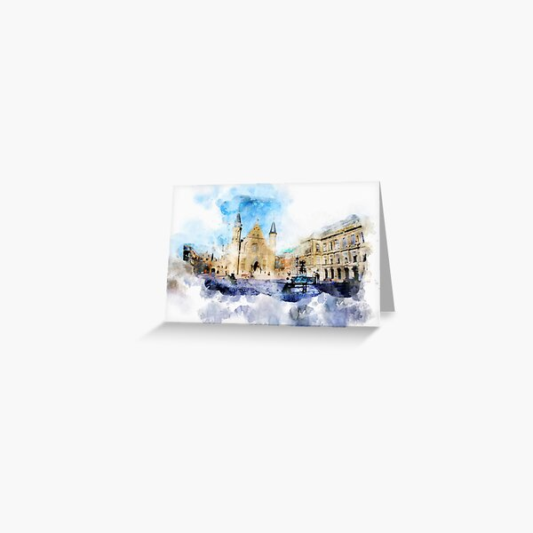 the Hague historical center Greeting Card