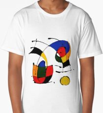 In The Style of Joan Miro Long T-Shirt
