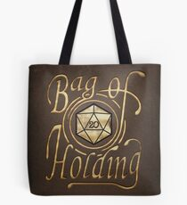 Bag of Holding (dark leather look) Tote Bag
