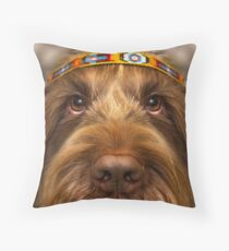 Some people call me the space cowboy, some call me the guru of love Throw Pillow