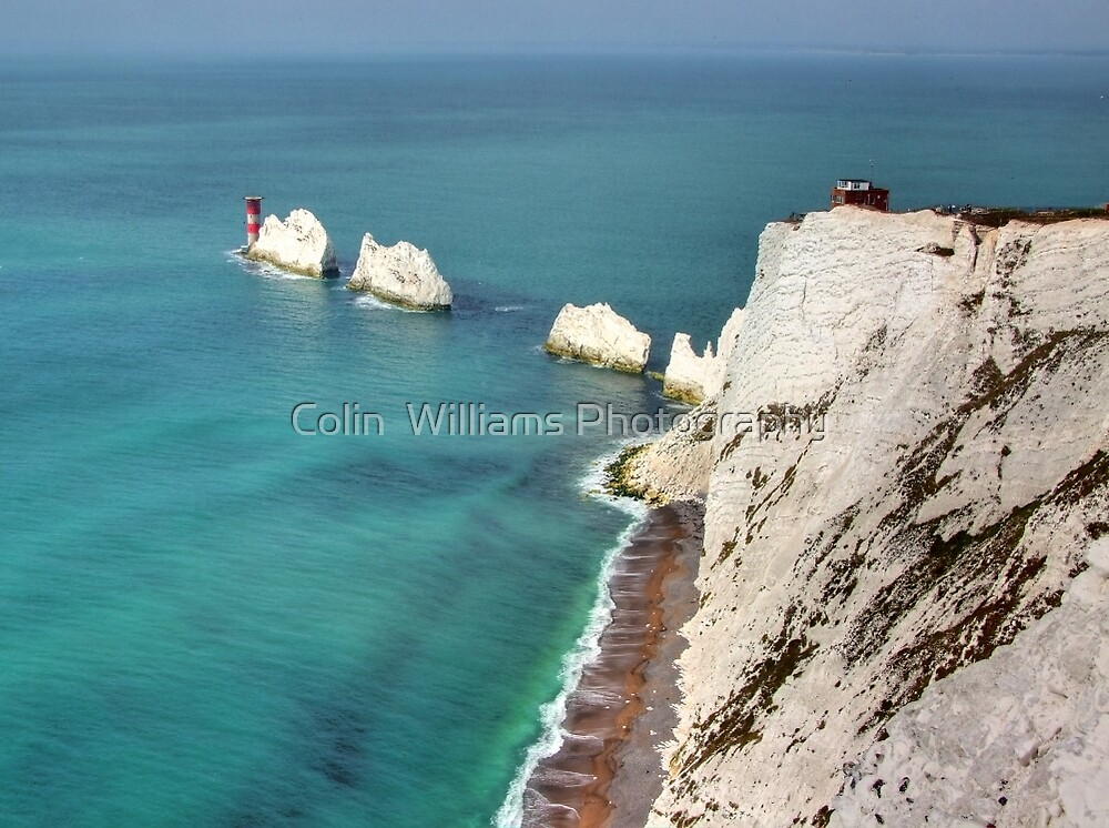 The Needles Shot 2  - I.O.W. by Colin  Williams Photography