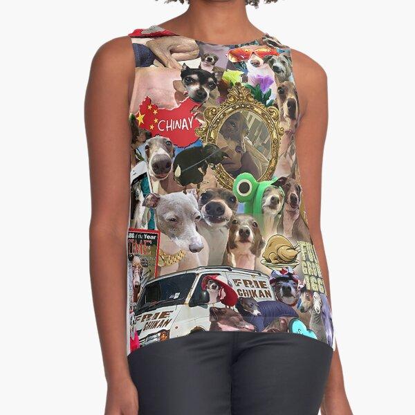 Jenna Marbles Kermit Collage Sleeveless Top