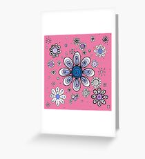 Flowers in pink mood Greeting Card