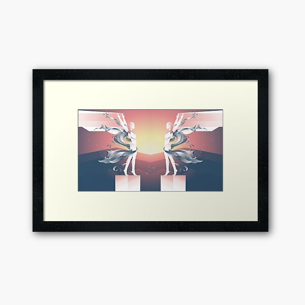 Icarus Framed Art Print