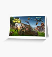 Fortnite Loading Screen Greeting Card