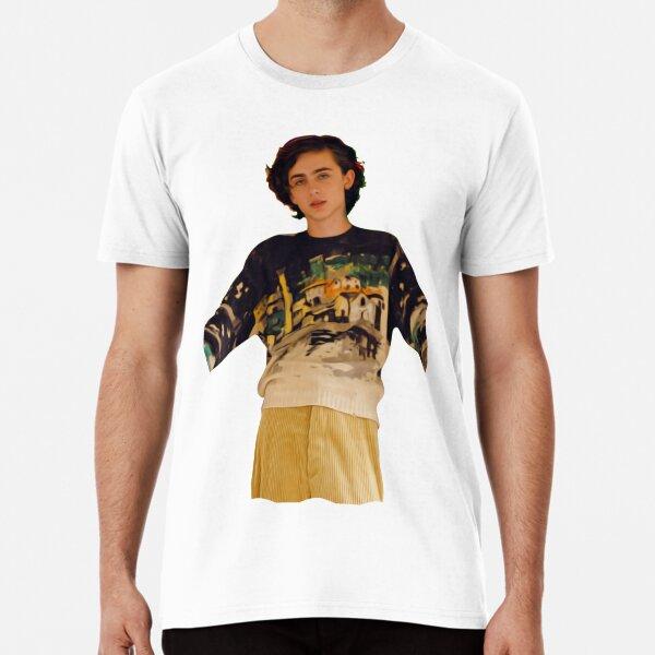 Timothee Chalamet - Celebrity Art Premium T-Shirt