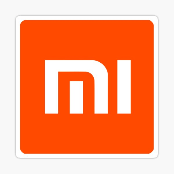 Mercancía del logotipo de Xiaomi Pegatina