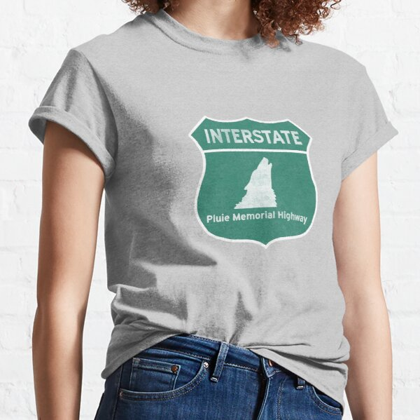 West Wing Pluie Memorial Highway (Wolves Only) Classic T-Shirt