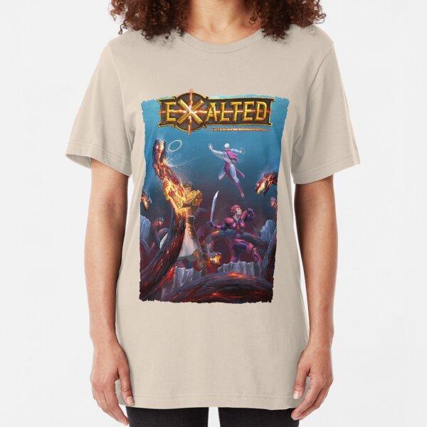 Exalted Art: Tomb of Dreams 1 Slim Fit T-Shirt