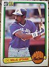 375 - Willie Upshaw by Foob's Baseball Cards