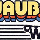 Ashwaubenon, Wisconsin | Retro Stripes by retroready