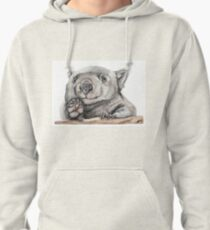 Lucy the Wombat Pullover Hoodie
