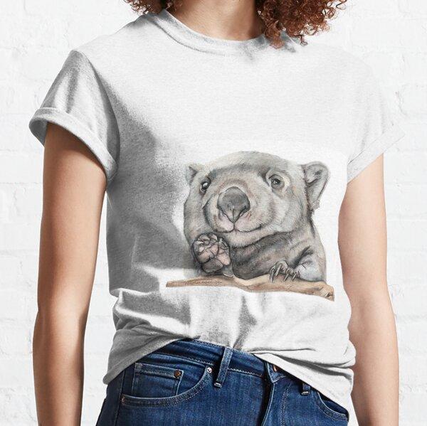 Lucy the Wombat Camiseta clásica
