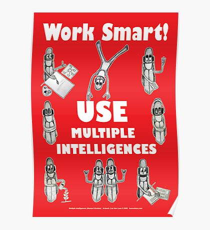 Work Smart! Poster