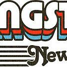 Livingston, New Jersey | Retro Stripes by retroready