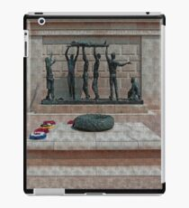 National Armed Forces Memorial Staffordshire England Uk iPad Case/Skin