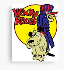 Wacky Races Cover Canvas Print