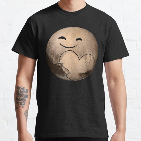ORIGINAL - Love, Pluto - Pluto Fly By - New Horizons - Dean Cole Design Classic T-Shirt