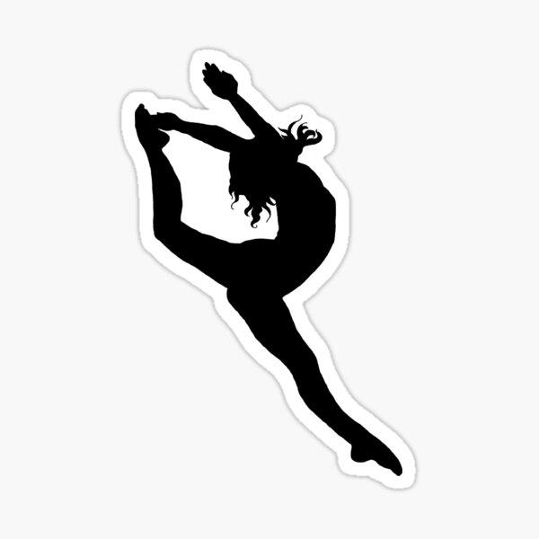 Dancer Firebird Silhouette  Sticker