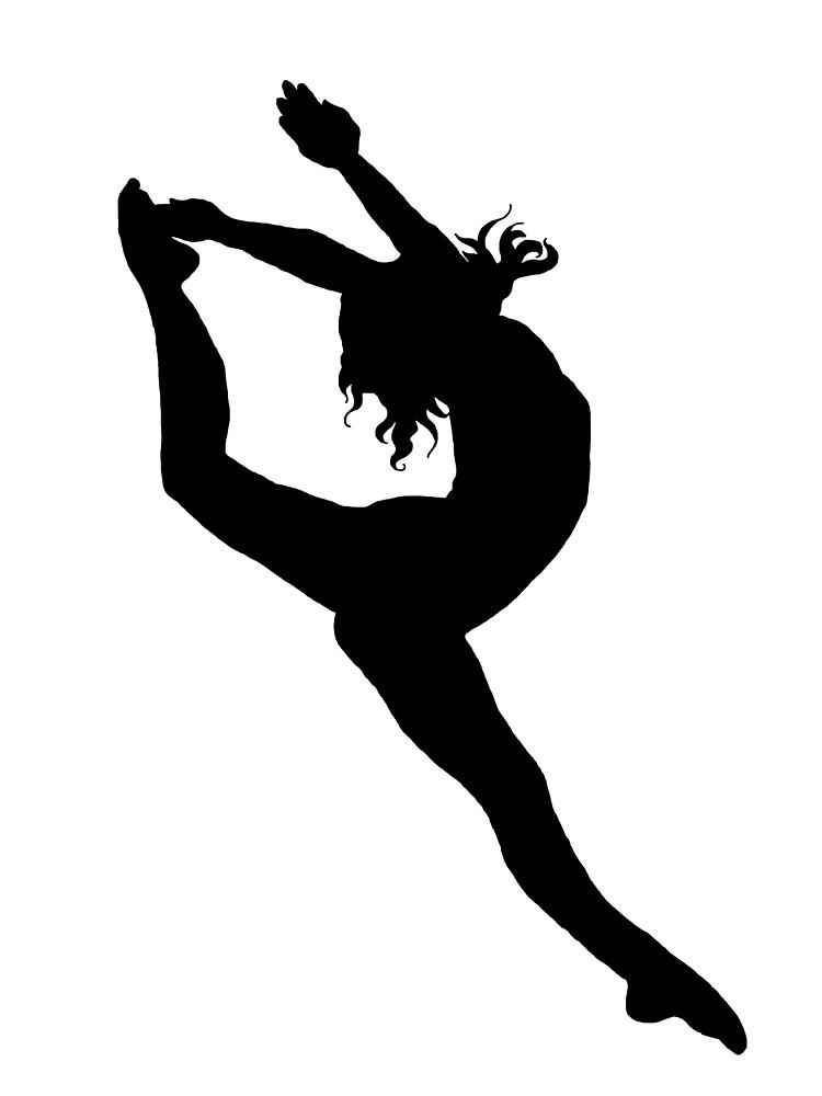 Quot Dancer Firebird Silhouette Quot By Maiacastro Redbubble