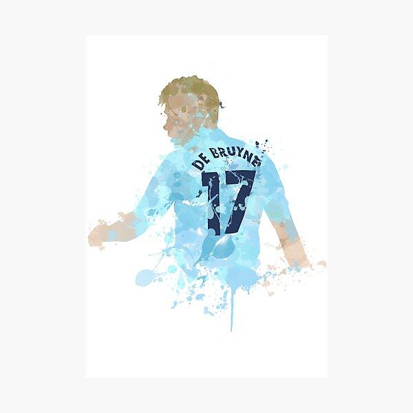 Kevin De Bruyne Manchester City Legend Art Photographic Print